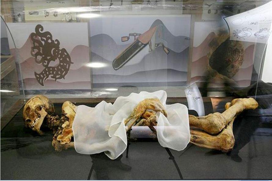мумия принцессы укок