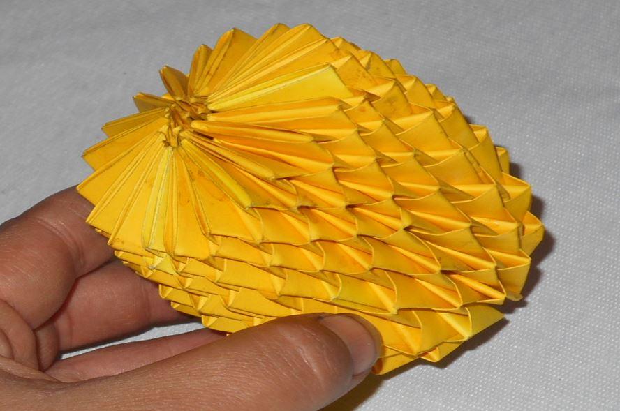 оригами лимон