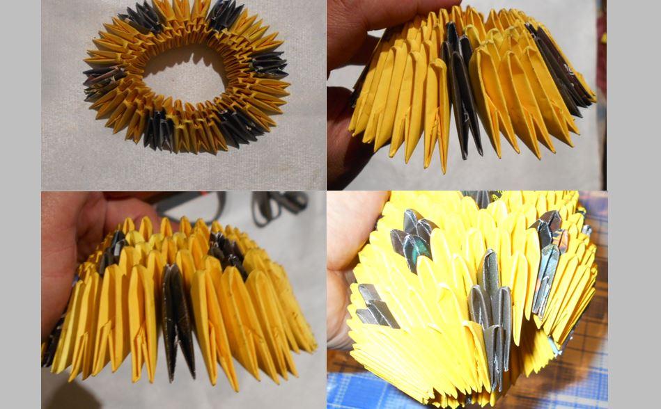 как сделать модульный ананас