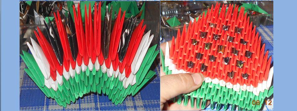простое модульное оригами