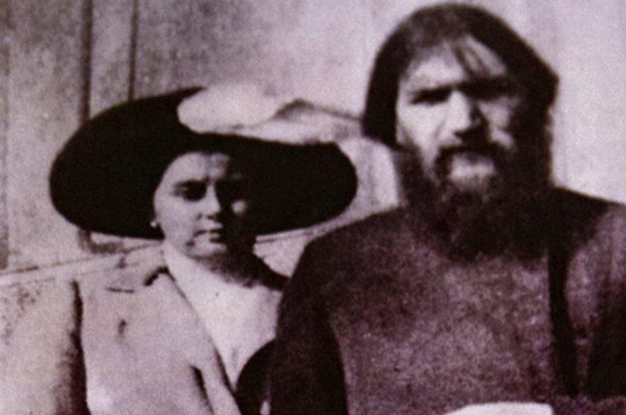 Анна Вырубова и Григорий Распутин