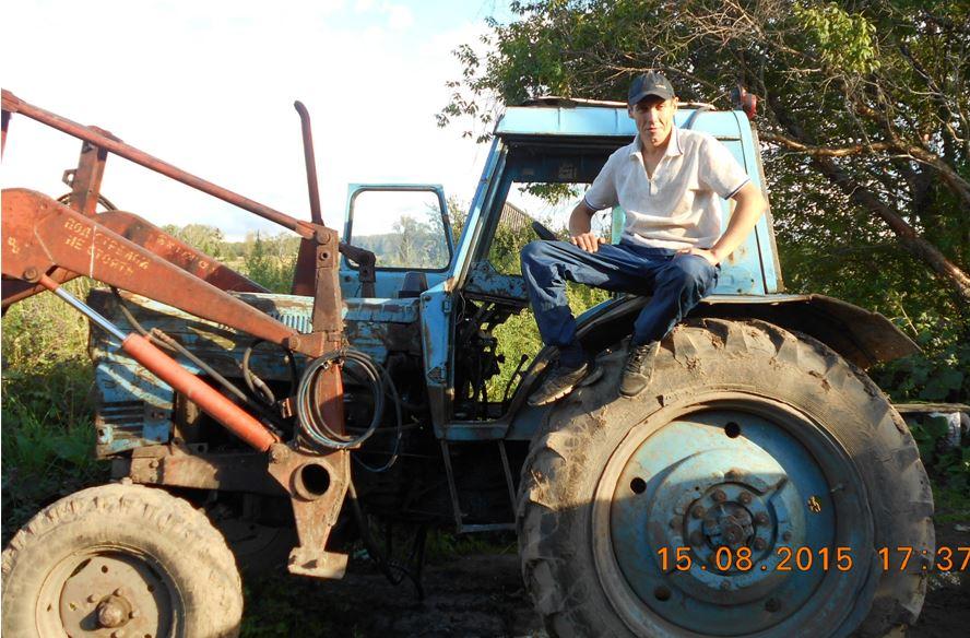 трактор - реальный заработок в деревне