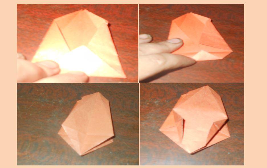 новый вариант тюльпана из бумаги