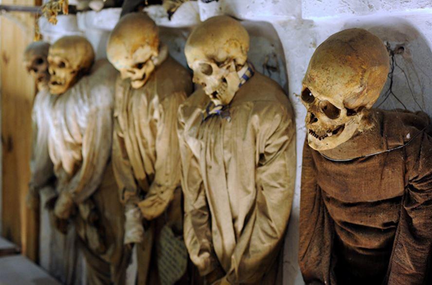 погребальные катакомбы