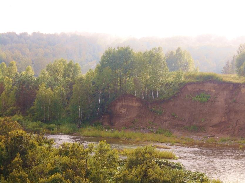 берега Суенги