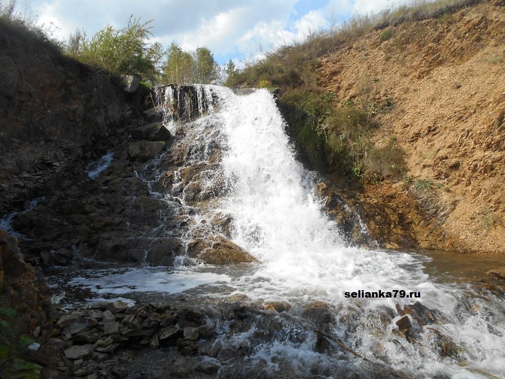 водопад в бураново
