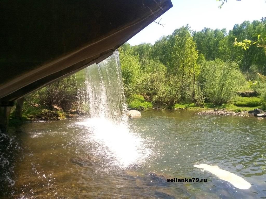 водопад в медведске