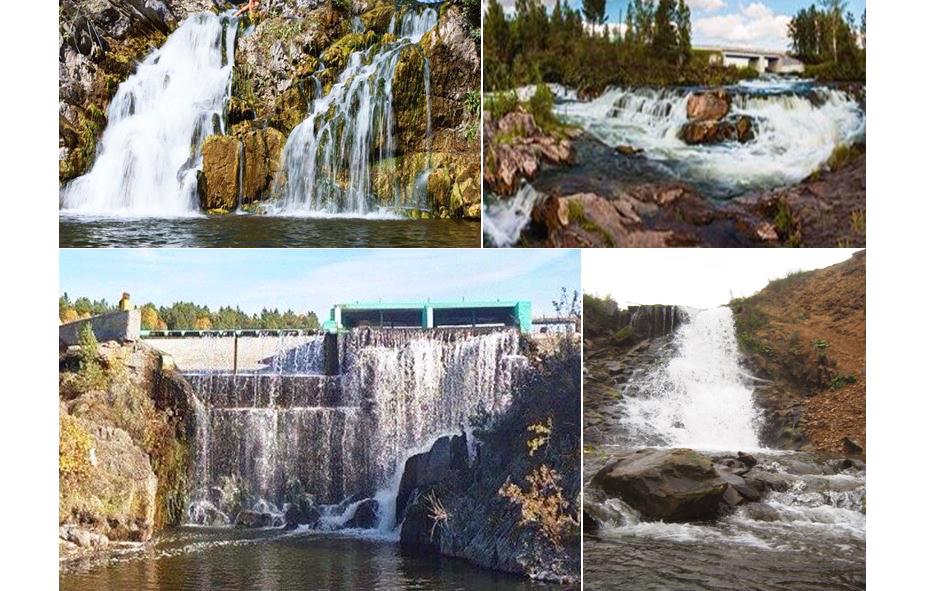 водопады НСО