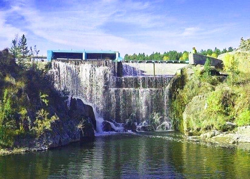 Водопад в Карпысаке