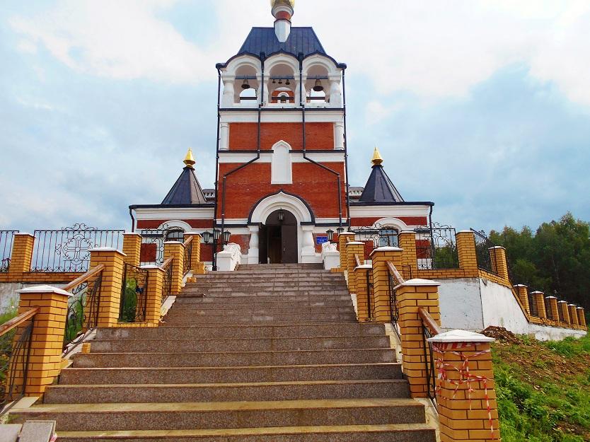 храм в честь жертв Сиблага