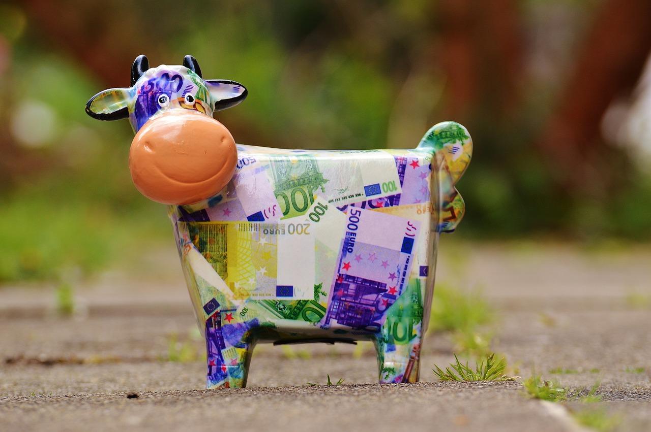 копилка корова