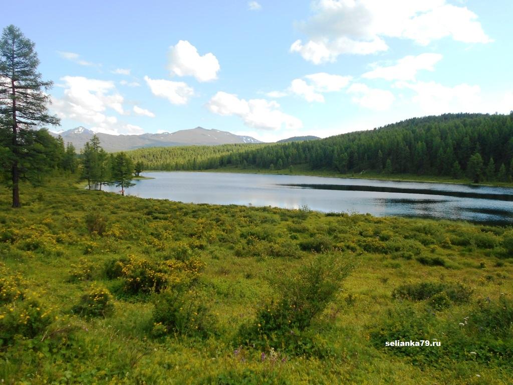 горное озеро киделю