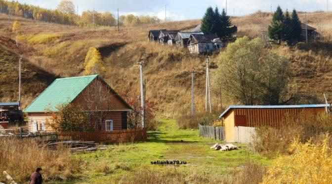 сибирская деревня