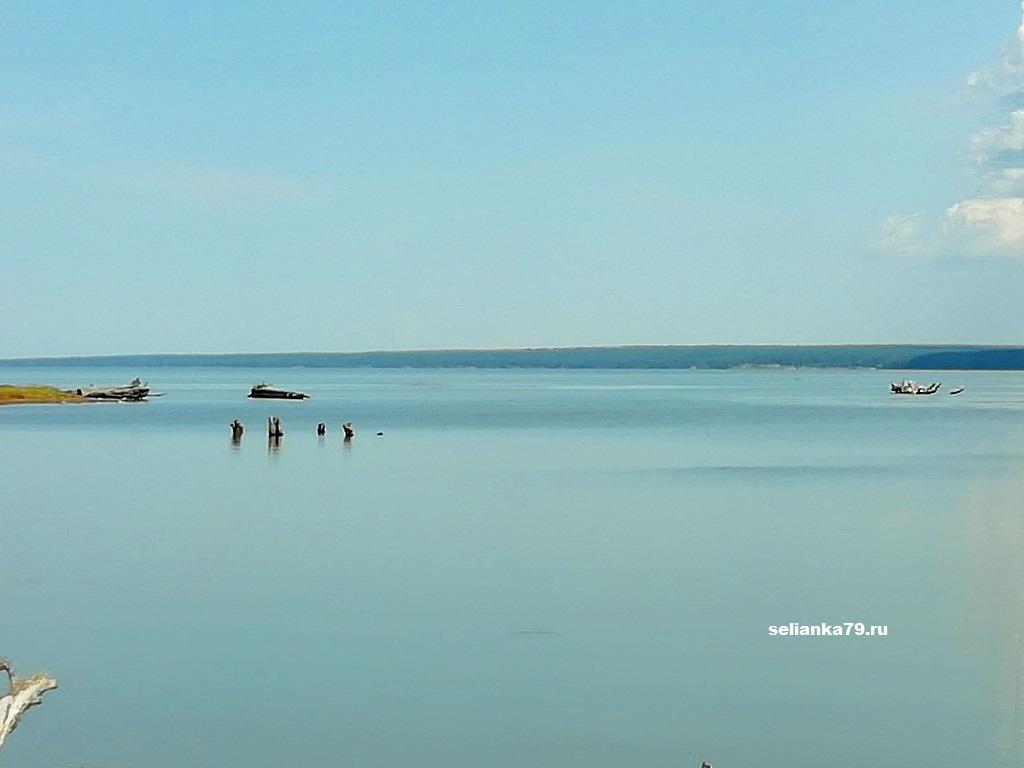 обское море в селе Чингис